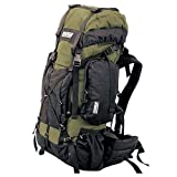 TAIGA International Traverse &#8211; Travel and Hiking Backpacks Back Packs, Olive, Large (70l; 5.7lbs)