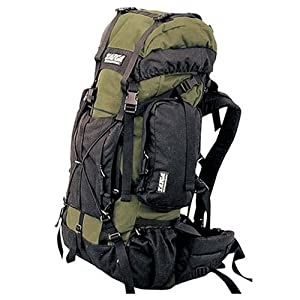 TAIGA International® Traverse - Travel and Hiking Backpacks Back Packs, Olive, Small (60l; 5.4lbs)