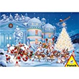 51swuSbzPGL. SL160  Christmas Toy Factory 1000 Piece Jigsaw Puzzle