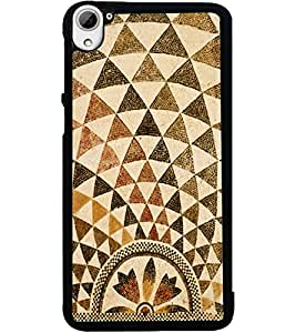 ColourCraft Lovely Pattern Design Back Case Cover for HTC DESIRE 826