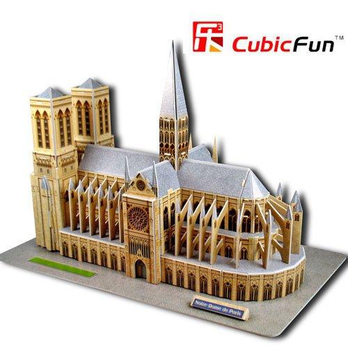 Un puzzle en 3D: Notre Dame de Paris