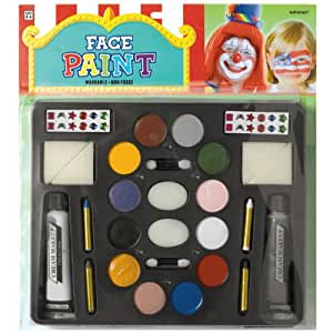 Official Costumes Deluxe Face and Body Paint Kit