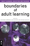 img - for Boundaries of Adult Learning (Economics as Social Theory) book / textbook / text book