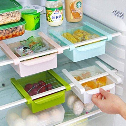 Bluelover-Plastic-Kche-Khlschrank-Khlschrank-Gefrierschrank-Storage-Rack-Shelf-Halter-Kchenorganisation-Grn