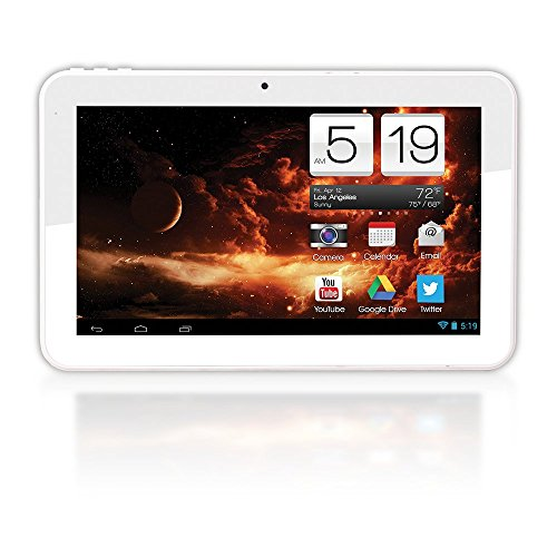 Axess Ta2513-10Wt 10-Inch Dual Core Android Tablet In White Color - Rockchip 3066 1.6 Ghz ~ 8Gb Storage ~ 1Gb Ram ~ 1024 X 600 Resolution ~ Android 4.2.2 Jelly Bean W/ Google Play ~ Dual Camera ~ 5000 Mah Battery!