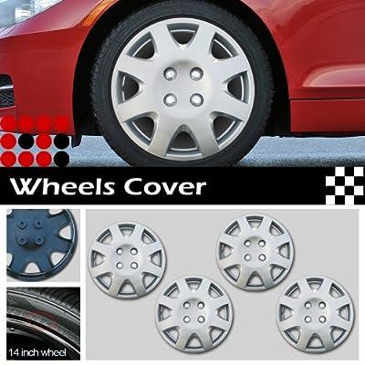 "LT Sport SN#100000000251-228 For MULTIPLE VEHICLE 14"" (R14) Rim Skin Hubcap ABS Wheel Cover"