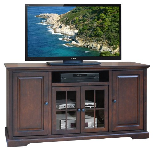 Legends Brentwood 64 in. TV Console - Danish Cherry photo