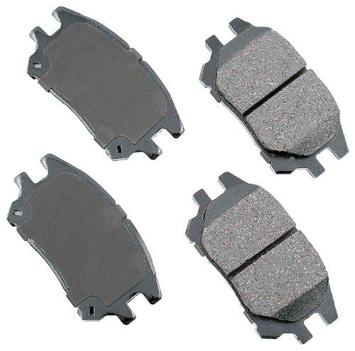 Akebono Act930 Proact Ultra-Premium Ceramic Front Brake Pad Set For 2002-2003 Lexus Rx300