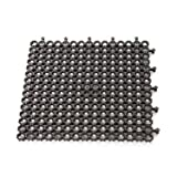 Plum Products Black Protektamats 50cm x 50cm (Pack of 4)