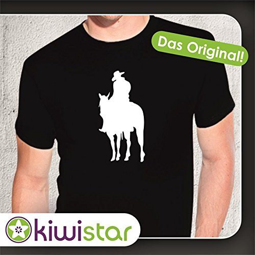 Kiwistar -  T-shirt - Basic - Maniche corte  - Uomo Nero  nero