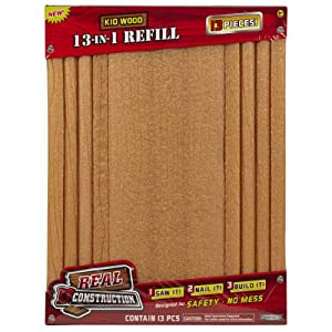 Real Construction Refills- Bundle Pack (13 In 1) Smaller Pieces