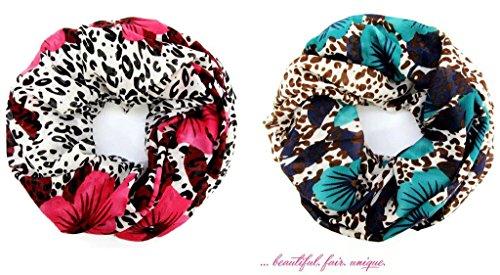 accessu-Echarpe-Foulard-pour-Femme-Floral-Animal-Leo-Design