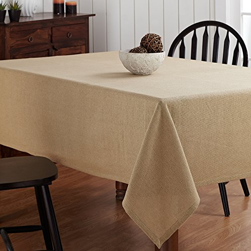 Burlap Natural Table Cloth - 60x80