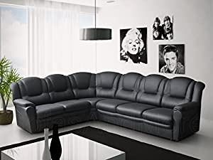 Texas Big Corner Sofa Suite - Faux Leather