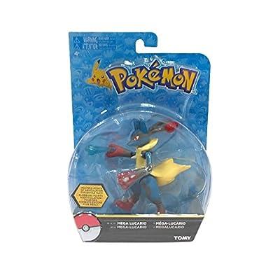 Pokémon Hero Figure, Mega Lucario from TOMY