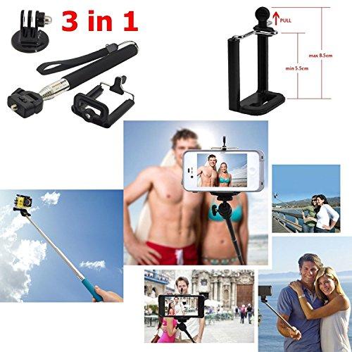 Iextreme-46-in-1-Kit-Accessori-per-la-macchina-fotografica-Gopro-per-il-campeggio-immersioni-subacquee-escursioni-in-bicicletta-Grip-Selfie-Stick-monopiede-Floating-mano-B-Modello-testa-Striscia-Octop