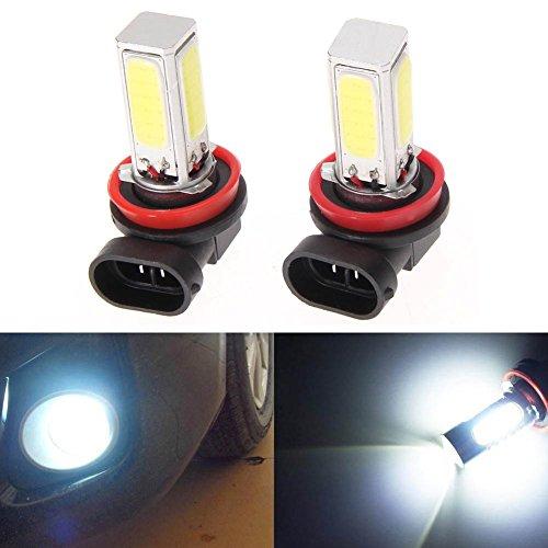 Chinatera 2Pcs High Power 6500K H11-COB-20W LED Fog Headlight Light Lamp Bulb White (Led H11 Headlight Bulb 20w compare prices)