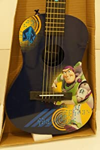 first act toy story buzz lightyear level 3 acoustic guitar designs may vary. Black Bedroom Furniture Sets. Home Design Ideas