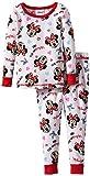 Disney Minnie Mouse Cotton Thermal Pajama Set, Girls Size 4-8