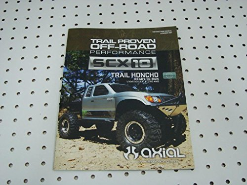 Axial Scx10 Trail Honcho Owners Manual Parts List