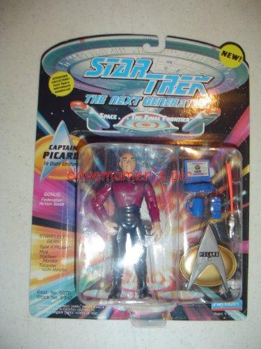 "Star Trek the Next Generation Captain Picard in Duty Uniform 4.5"" Action Figure"