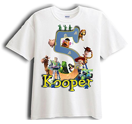 Toy Story - Personalized - Birthday T-Shirt Party Favor (Toy Story Shirts)