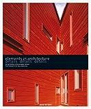 echange, troc Marc Pasnik, Oscar Riera Ojeda - Eléments en architecture : détails