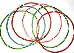 GLOTIME Hula Hoops x 6 (22inch Hula H...