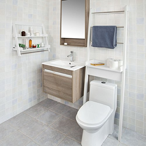 sobuy mueble para ba o wc estanter a de ba o de mdf