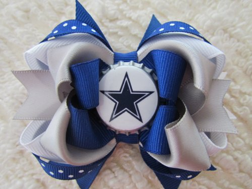 Dallas Cowboys Hair Bows at Amazon.com