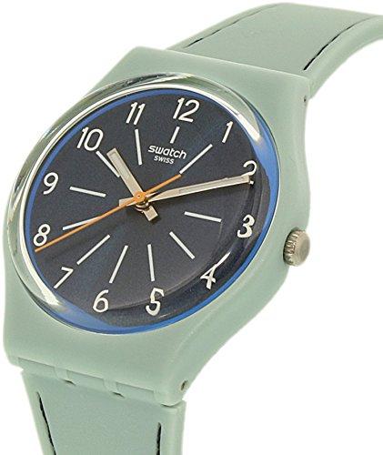 [해외] 여성 겐트 GM184 블루 실리콘 스위스 쿼츠 시계/Swatch Women`s Gent ...