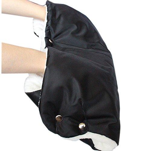 Passeggino/Carrozzina/Passeggino in pile scaldamani mano/guanti scaldamani/antigelo accessori, Passeggino per Neonati Single Handle Guanti senza dita di spessore