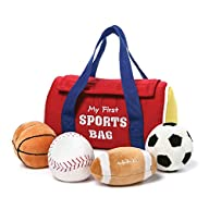 Gund My First Sports Bag Playset