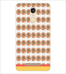 PrintDhaba Floral Pattern D-1882 Back Case Cover for XIAOMI REDMI NOTE 3 (MEDIATEK) (Multi-Coloured)