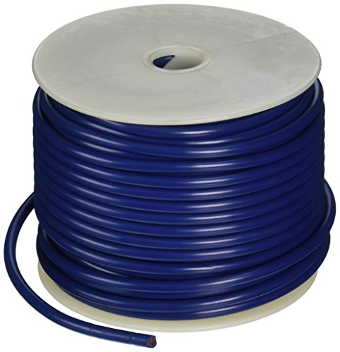 Coleman Cable 10-100-12 100-Feet 10-Gauge Primary Wire Bulk Spool (Blue)