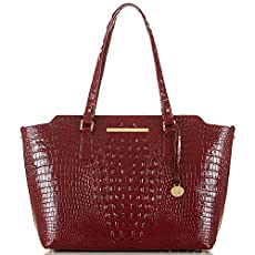Chandra Business Tote<br>Carmine Red Melbourne