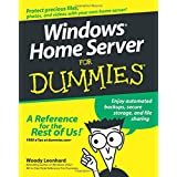 Windows Home Server For Dummies ~ Woody Leonhard