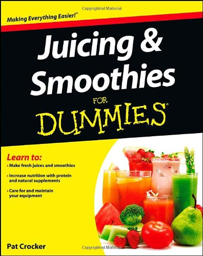Juicing And Smoothies For Dummies front-1012896