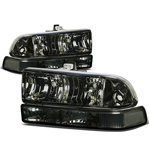 Chevy S10/Blazer GMT 325/330 Replacement Headlight Assembly Kit (Smoke Lens) (S10 Headlight Assembly compare prices)
