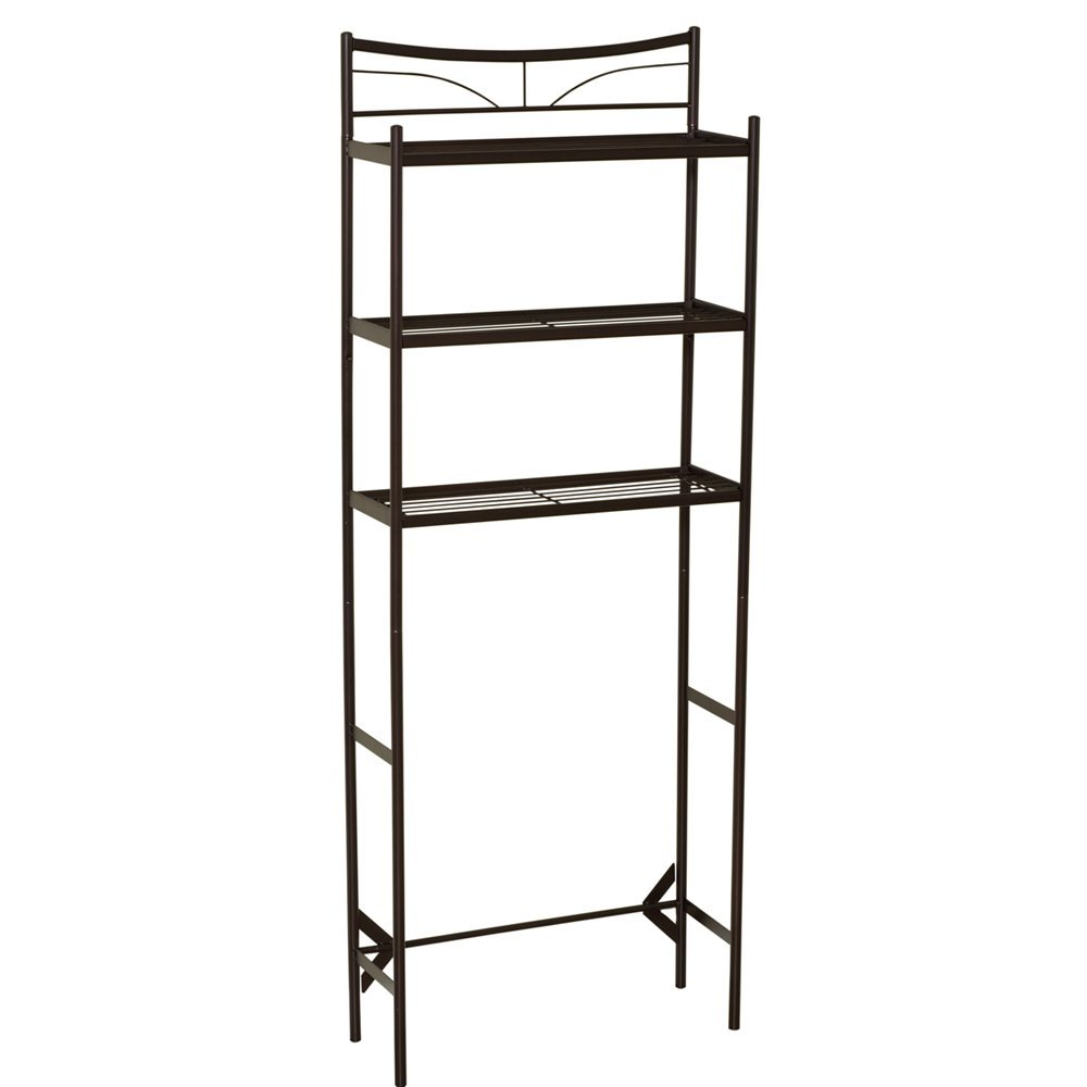 new metal bathroom space saver shelves over toilet wire shelf storage