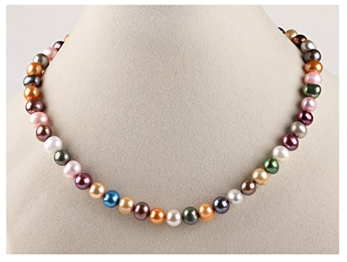 treasurebay-stunning-multi-colour-6-7mm-freshwater-pearl-necklace-length-45cm-plus-5cm-chain-extende