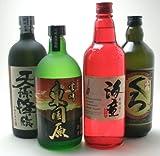軽いお酒では満足できないあなた 厳選 ガッツリ芋芋福袋720ml×4本 飲み比べ ギフトセット