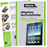 2x Apple Ipad 2 + Ipad 3 + Ipad 4 Displayschutzfolie Original Dipos Antireflex Schutzfolie entspiegelnd und Anti-Fingerprintvon &#34;dipos&#34;
