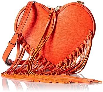 Rebecca Minkoff Heart Fringe Cross-Body Bag