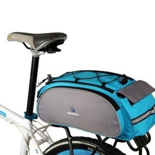 Cycling Bicycle Bag Bike Outdoor Travel Rear Seat Bag Pannier 13L
