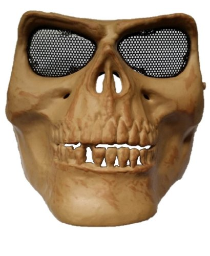 Pellor Face Protect Army M02 Ii Skull Warrior Armor Mask Skeleton