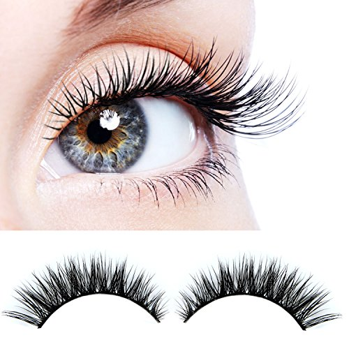 ... Makeup Crisscross Fake eye lashes Extension- Eyelash Strips (2 Pair