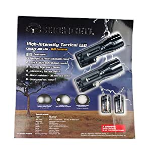 Serengeti High-intensity Tactical LED Flashlight (Twin Pack)