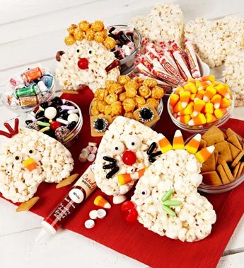 Popcorn Heart Decorating Kit