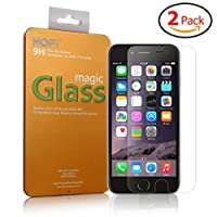 """[iPhone 6/6s Plus Tempered Glass Screen Protector] HOFi Premium 0.26mm Tempered Glass Screen Protector for iPhone 6/6s Plus 5.5"""" with 3D Touch Compatible [2 Pack - 5.5 Inch] by HOFI"""